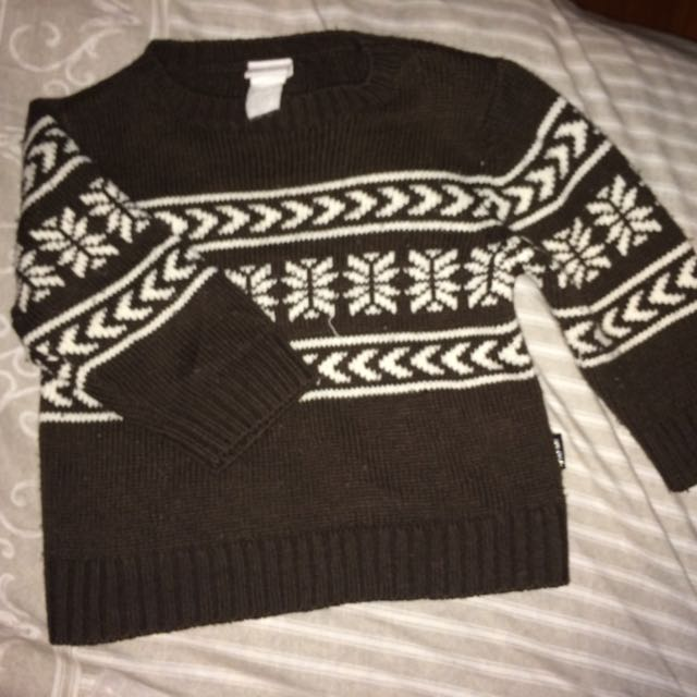 Boys Or Girls Jumper. Size 1, Nice And Warm