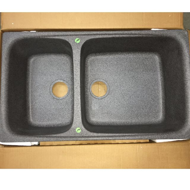 Brand new Elleci Granitek Granite Sink (Black), Home Appliances on ...