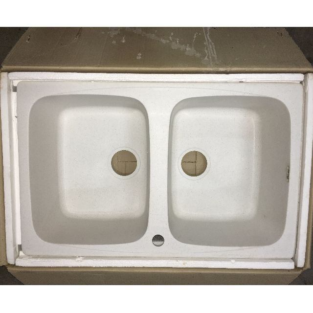 Brand new Elleci Granitek Granite Sink (White), Home Appliances on ...