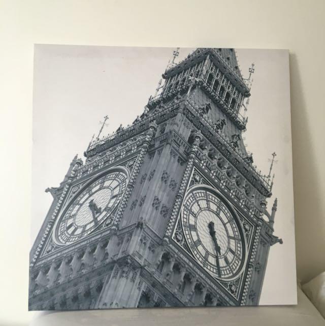Canvas Print (Big Ben)