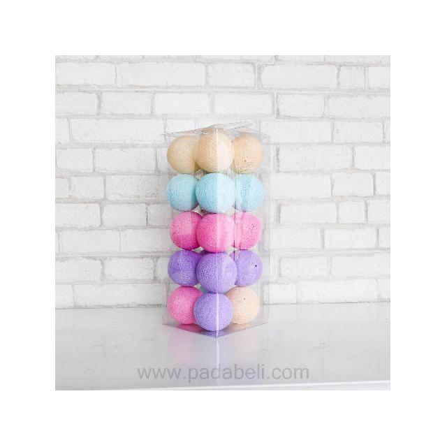 Cotton ball light pastel tone