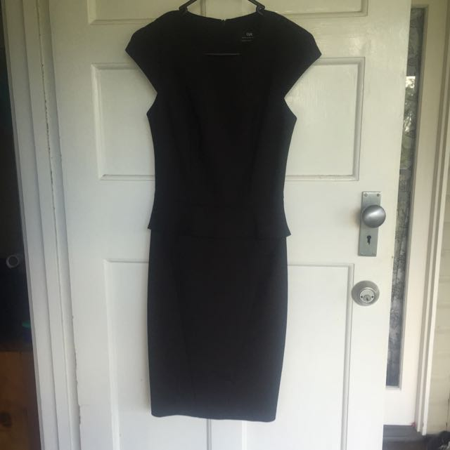 Cue Peplum Dress