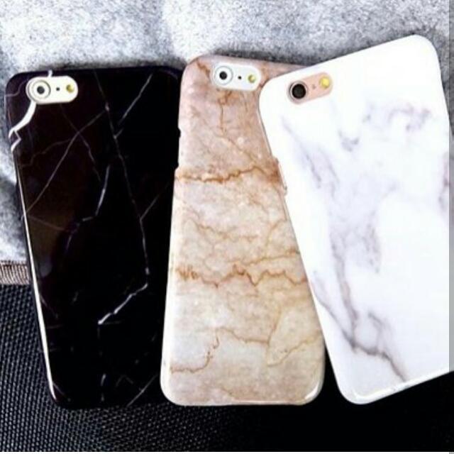 Dark Marble Personalised Phone Case