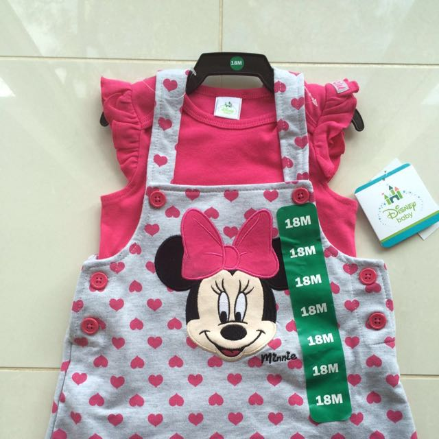 575bfade6 Disney Minnie Mouse 2-pc Romper, Babies & Kids, Babies Apparel on ...
