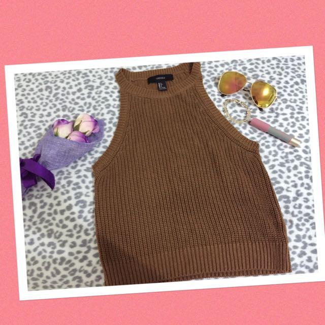 F21 Crochet Top