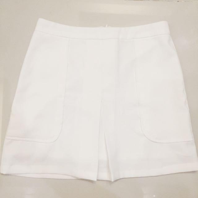 ForMe White Skirt