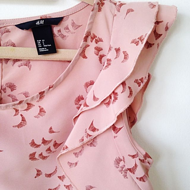 H&M Pretty Pink Top