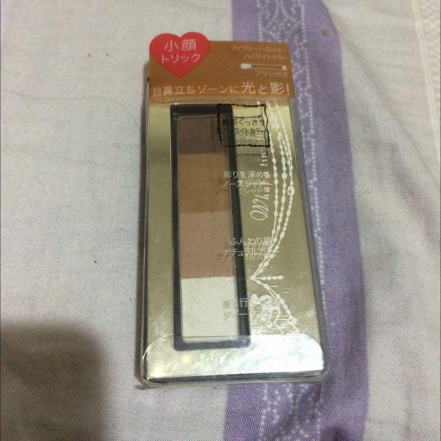 INTEGRATE 立體光效四色眉粉盒 BR731