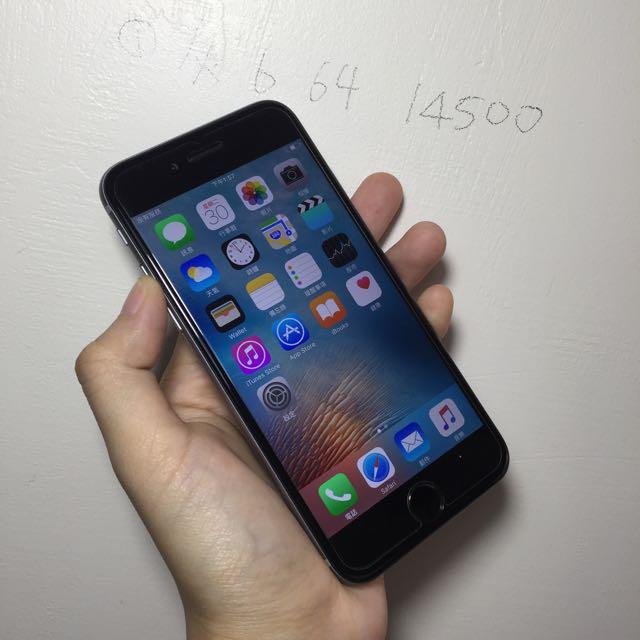 iPhone 6 64g 看完說明再發問謝謝