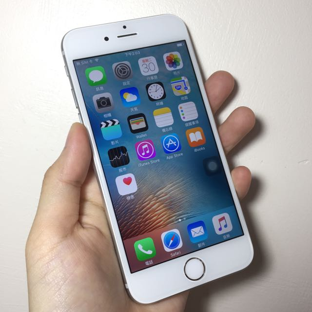 iPhone 6 64g 銀色無傷 看完說明再發問謝謝
