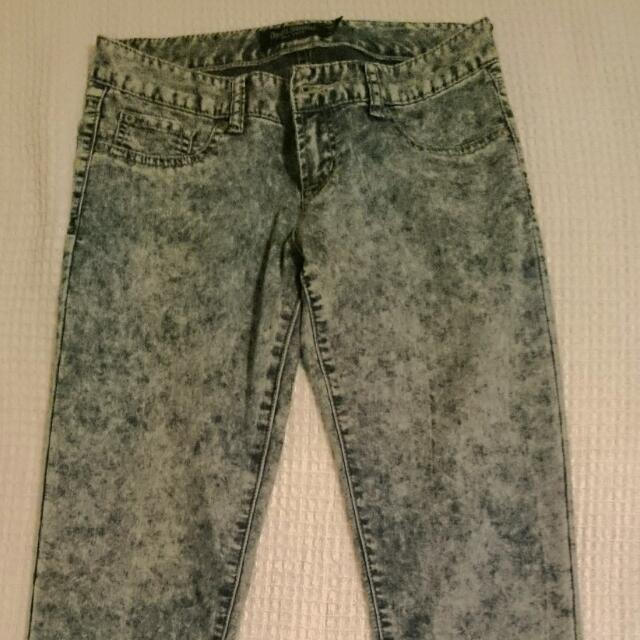Just Jeans Acid Wash second skin Jean