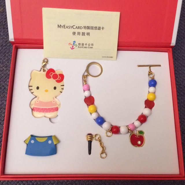 限量KITTY變裝悠遊卡【經典款】(已絕版)手環、吊飾、防塵塞