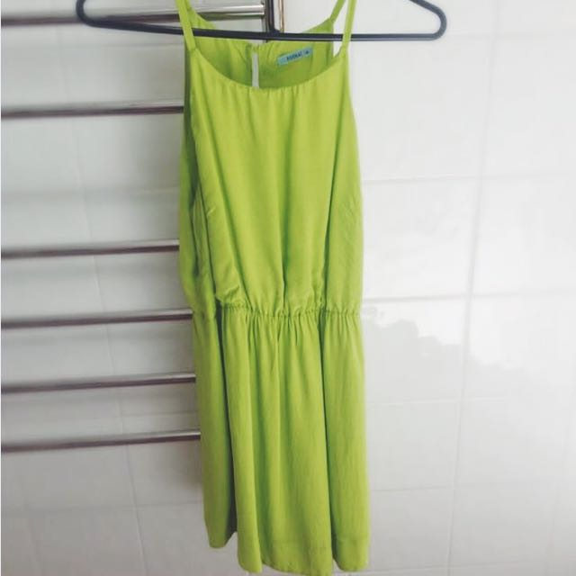 Kookai Lime Cocktail Dress