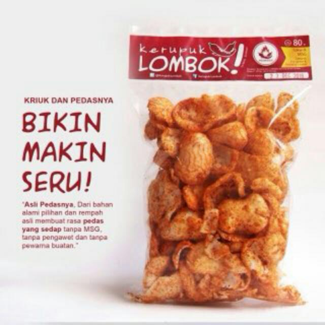 Krupuk lombok