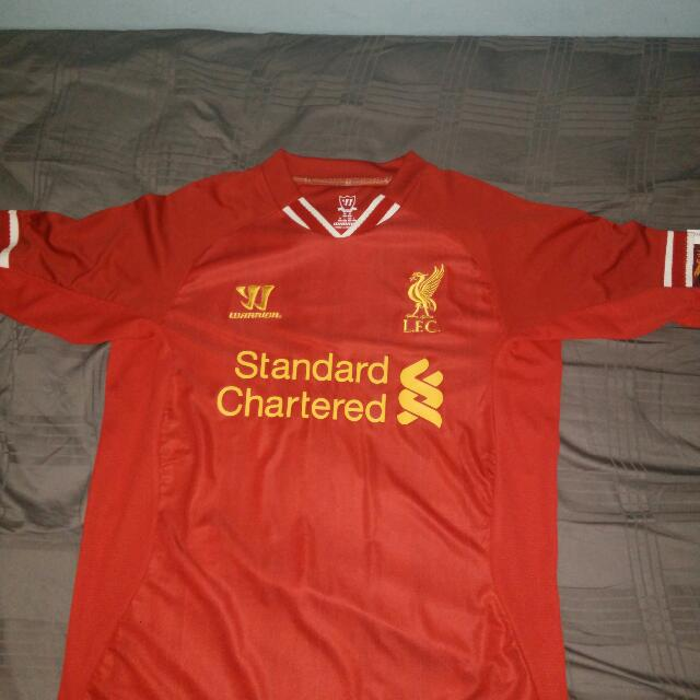 new product 4ad27 fd520 Liverpool 2013/14 Home Jersey Suarez 7