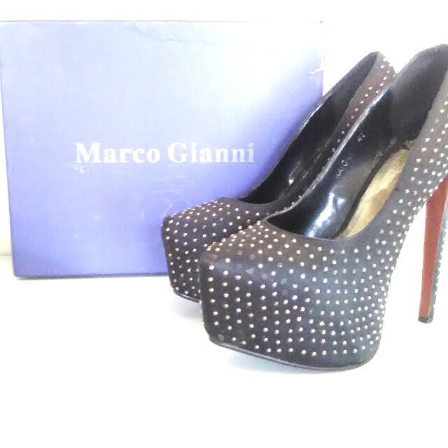 Marco Gianni Black Darla Size 41