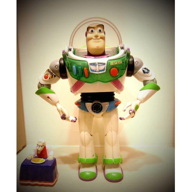 MATTEL Toy Story Turbo Glo Buzz Lightyear 藍帶版