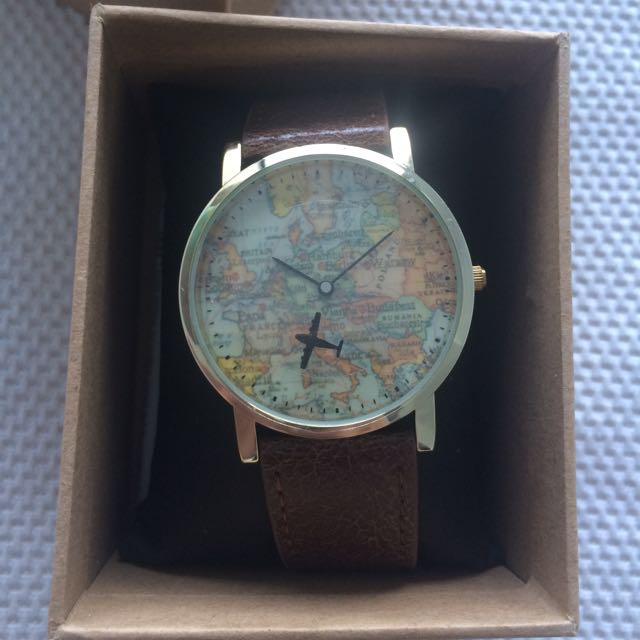 Men's ASOS Watch World Map