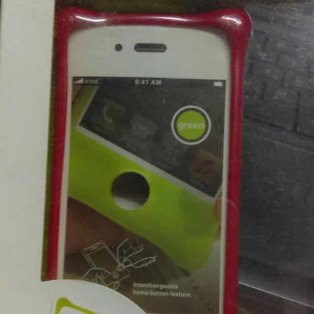 Phone Bubble 4S/4繽紛逗扣防撞保護套