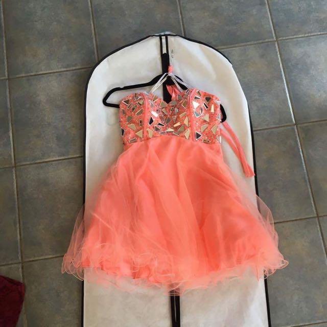 Pink Glitzy Dress