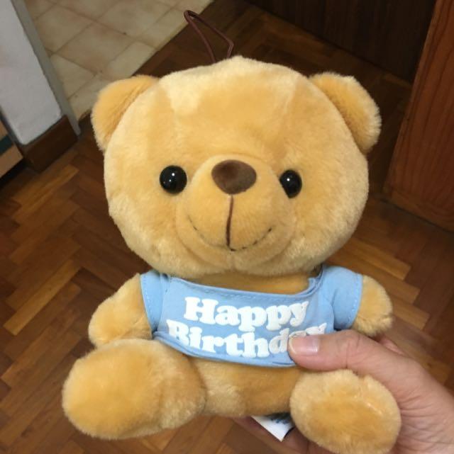 Plushy Soft Toy Bear