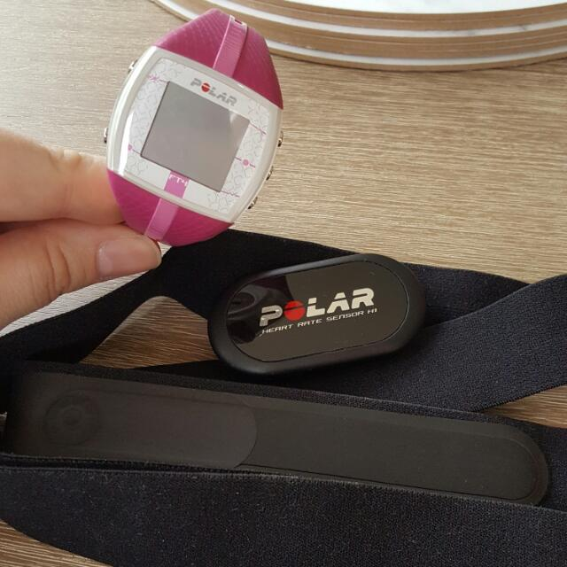 POLAR FT4 WATCH
