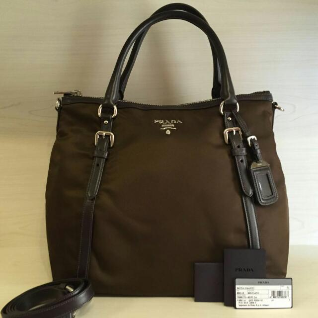 Prada BR5116 Brown (Authentic)