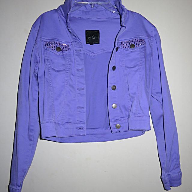 Purple Fall Jacket