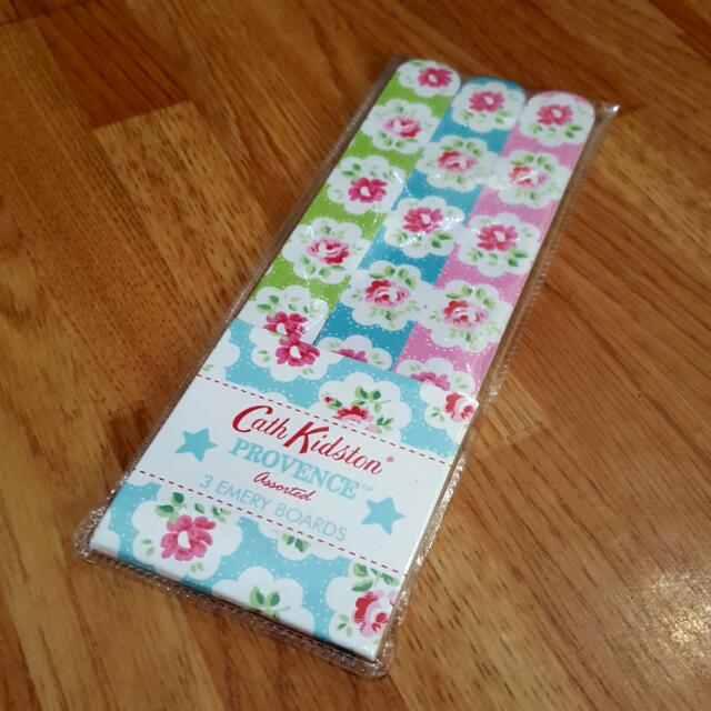 SALE | Cath Kidston 3 Set Of Emery Boards (Nail File)