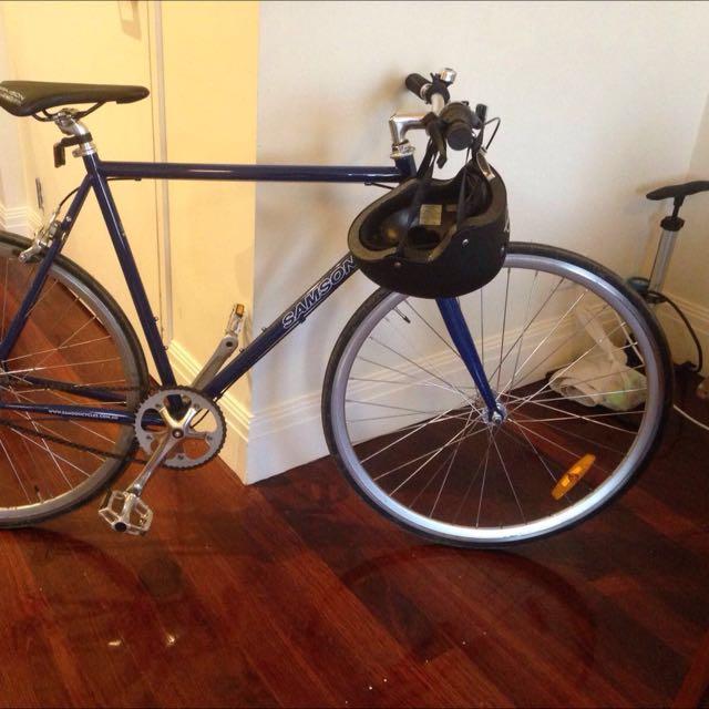 Samson Blue Steel Bike