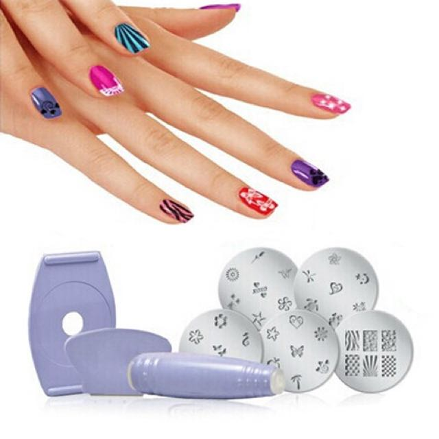 Seen On Tv Nail Art Stamping Kit Online Shop Preorder Beauty