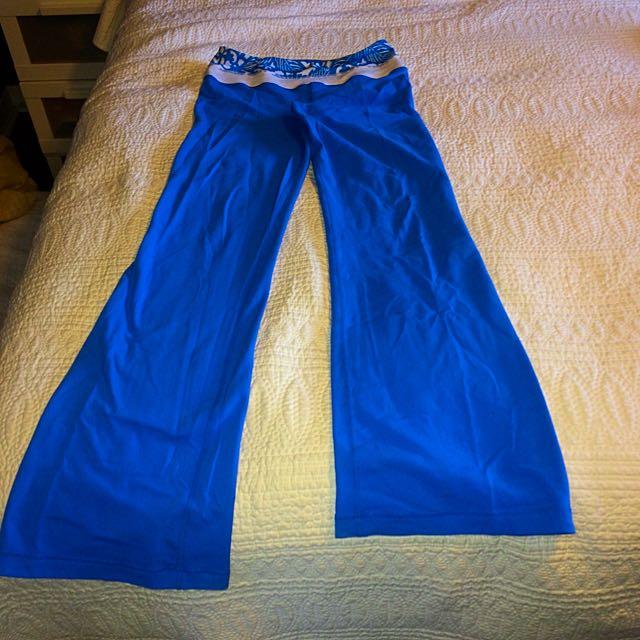Sky Blue Lulu Lemon Groove Pant