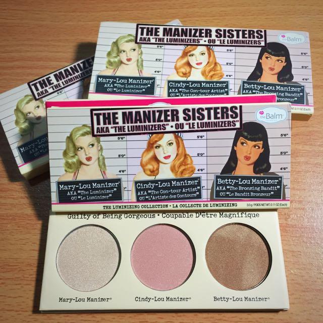 The Balm Manizer Sisters 三姐妹打亮盤