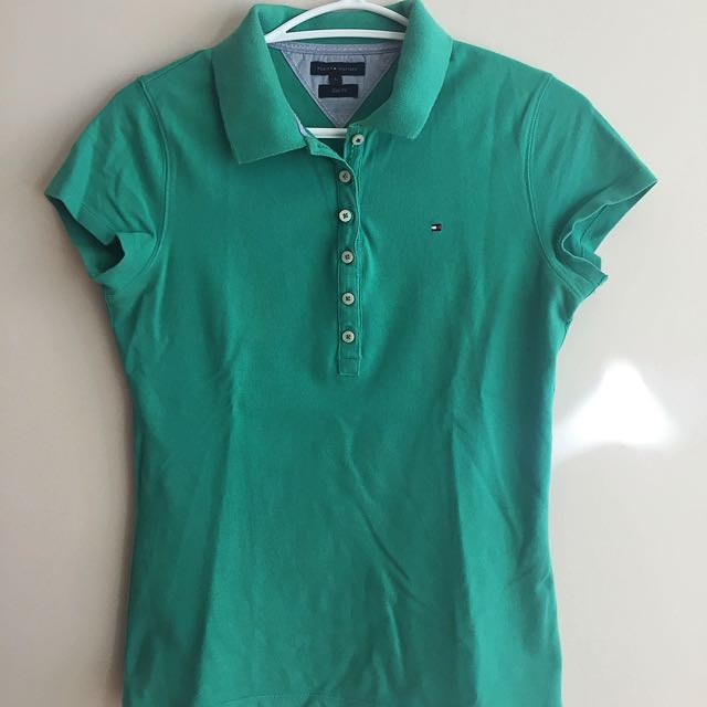 Tommy Hilfiger Green Polo T-Shirt