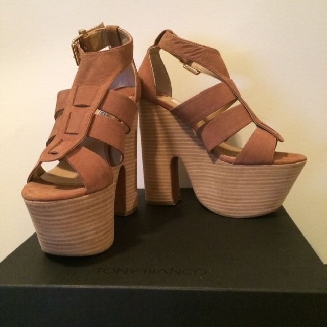 Tony Bianco Chunky Heels
