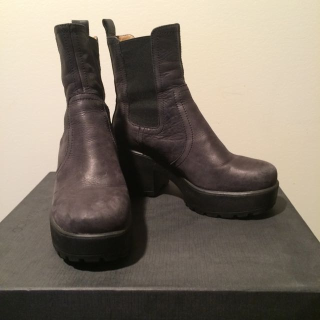 Tony Bianco Leather Rumbler Boots