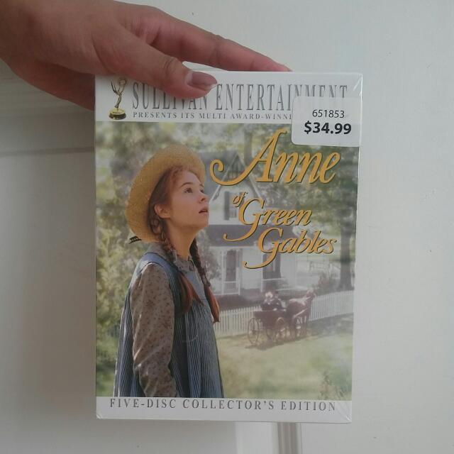 UNOPENED Anne Of Green Gables Five Dvd  Collectors Edition