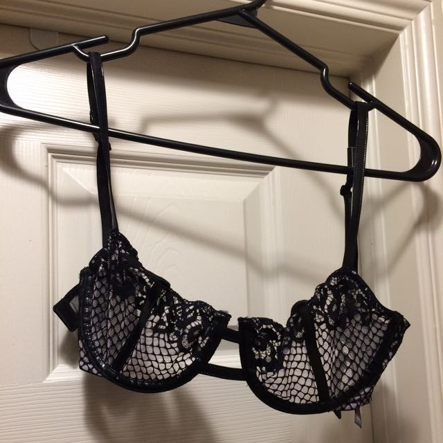Victoria Secret Unlined Demi Bra 34 C