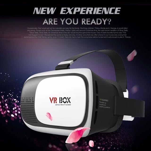 VR BOX 2ND GENERATION + REMOTE 801495
