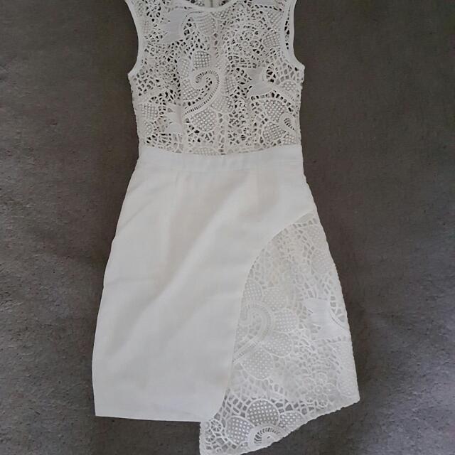 White Angel Biba Lace Dress
