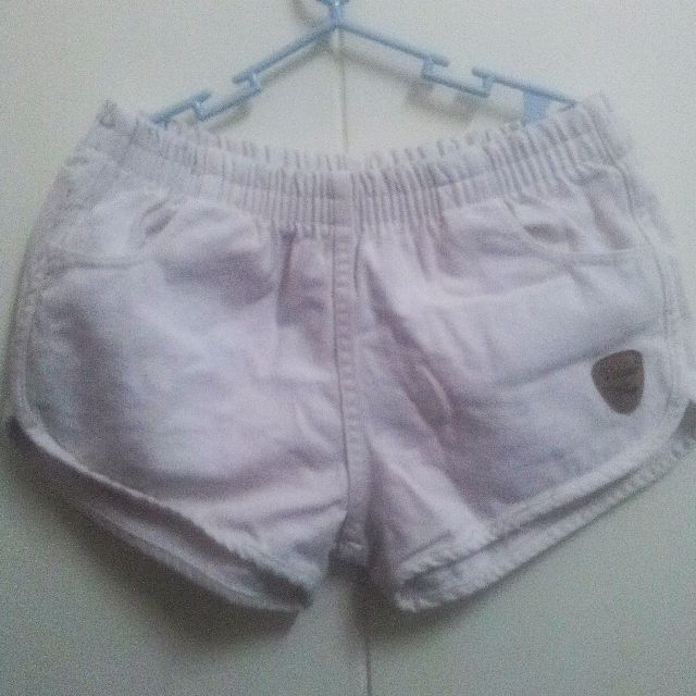 REPRICED White Dolphin Shorts