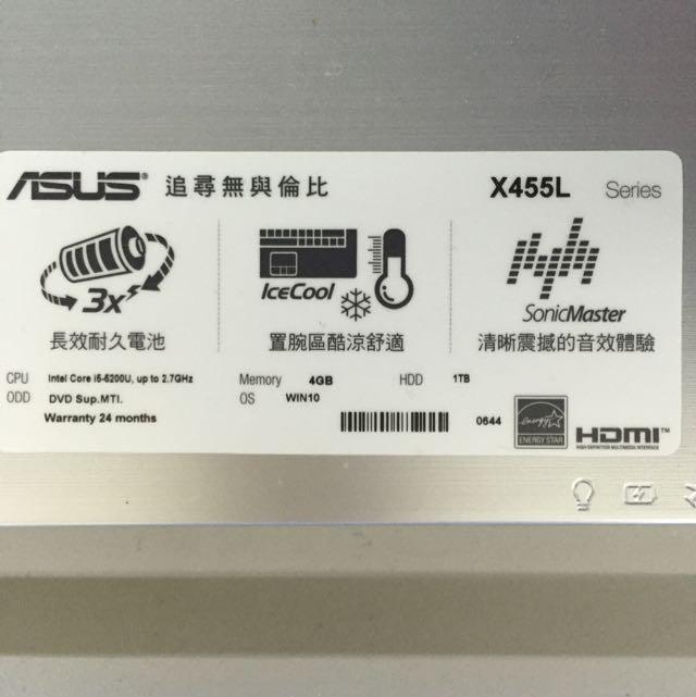 賠錢之王-華碩X455LJ