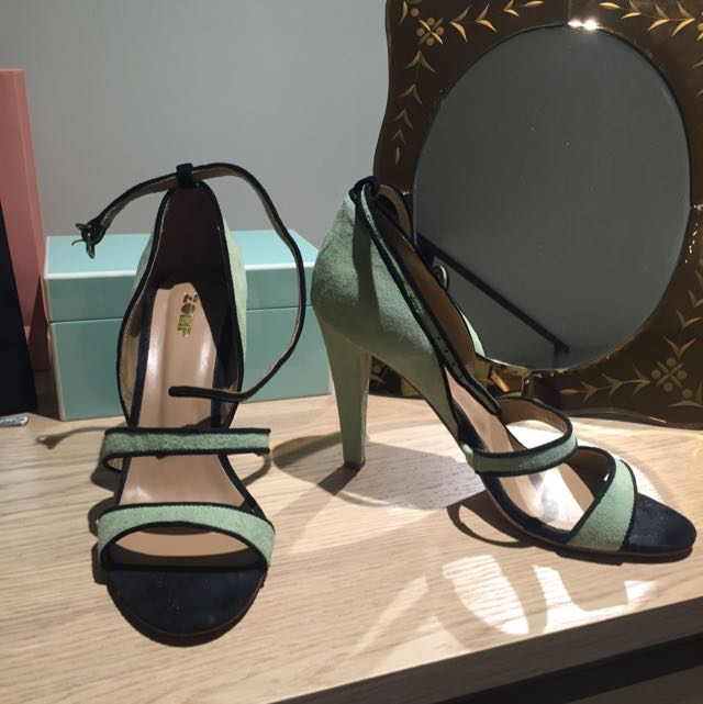 *New* Zomp Lime Green Heels - Size 39.5