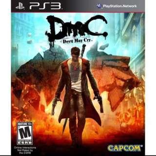 PS3 DMC - Devil May Cry