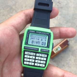 Vintage Casio Databank Watch (Sold)