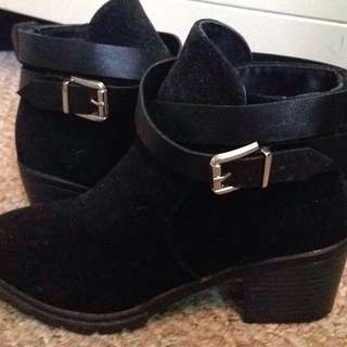 Buckle Ankle Booties
