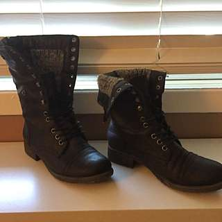 Blowfish Combat Boots