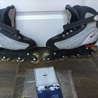 Like Brand New Nike Roller Blades Size 10