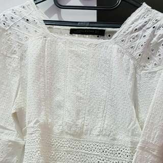 Zara Top White2