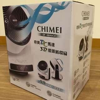 全新保固 CHIMEI奇美 8吋DC直流馬達循環扇(DF-08A0CD)